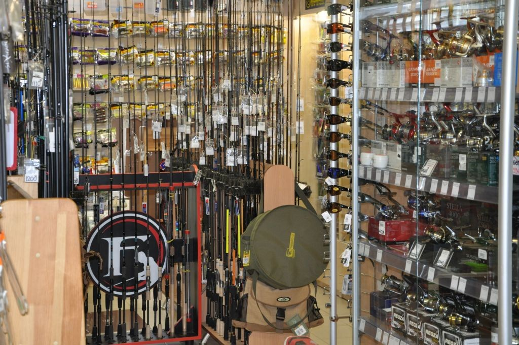 магазин рыболовных товаров salmo